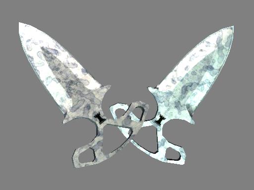 暗影双匕(★) | 人工染色 (久经沙场)★ Shadow Daggers | Stained (Field-Tested)