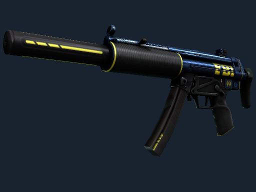 MP5-SD(StatTrak™) | 探员 (略有磨损)StatTrak™ MP5-SD | Agent (Minimal Wear)