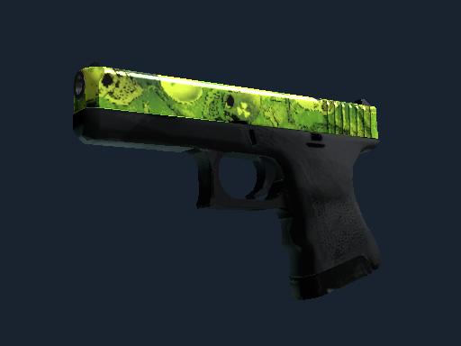 格洛克 18 型 | 核子花园 (崭新出厂)Glock-18 | Nuclear Garden (Factory New)