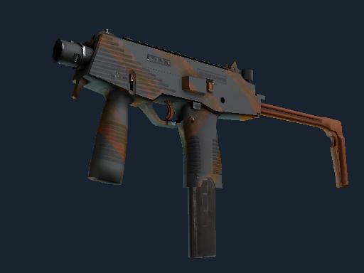 MP9(纪念品) | 滑移 (略有磨损)Souvenir MP9 | Slide (Minimal Wear)