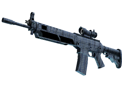 SG 553 | 浪花穿孔 (崭新出厂)SG 553 | Waves Perforated (Factory New)