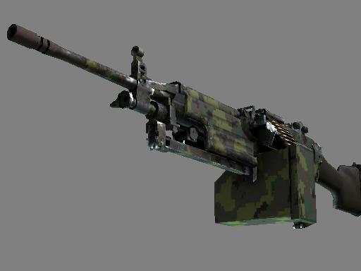 M249   丛林 DDPAT (久经沙场)M249   Jungle DDPAT (Field-Tested)
