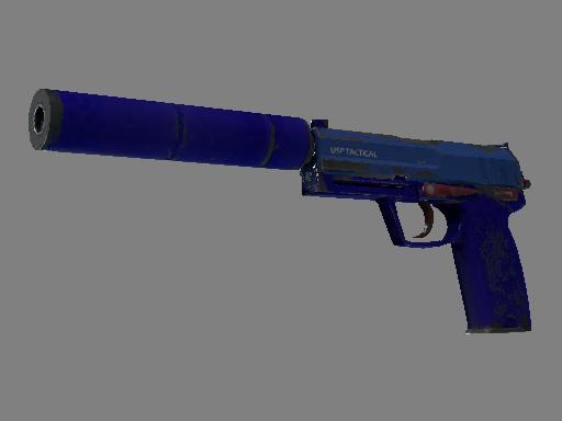 USP 消音版 | 寶藍之色 (久經沙場)USP-S | Royal Blue (Field-Tested)