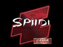 印花 | Spiidi | 2017年亚特兰大锦标赛Sticker | Spiidi | Atlanta 2017