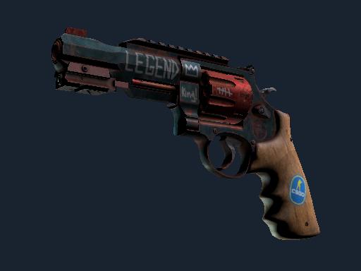 R8 左轮手枪   Junk Yard (略有磨损)R8 Revolver   Junk Yard (Minimal Wear)
