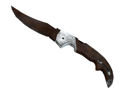 弯刀(★ StatTrak™) | 外表生锈 (战痕累累)★ StatTrak™ Falchion Knife | Rust Coat (Battle-Scarred)