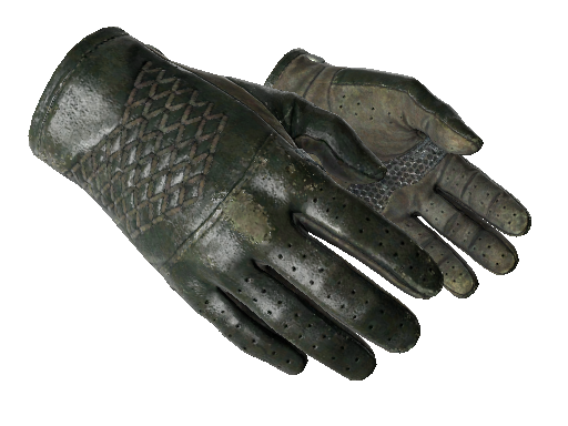 驾驶手套(★) | 墨绿色调 (久经沙场)★ Driver Gloves | Racing Green (Field-Tested)