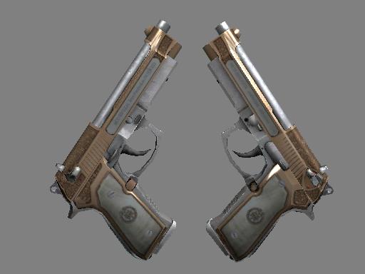 双持贝瑞塔   卡特尔 (久经沙场)Dual Berettas   Cartel (Field-Tested)