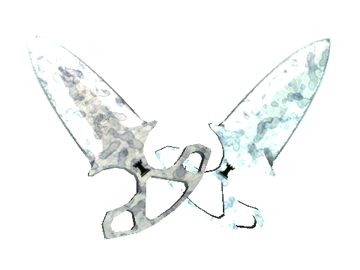 暗影双匕(★) | 人工染色 (略有磨损)★ Shadow Daggers | Stained (Minimal Wear)