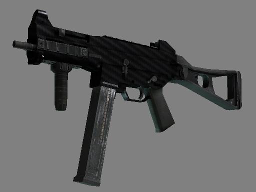 UMP-45 | 碳素纤维 (略有磨损)UMP-45 | Carbon Fiber (Minimal Wear)