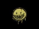 封装的涂鸦 | 露齿笑 (草绿)Sealed Graffiti | Mr. Teeth (Tracer Yellow)