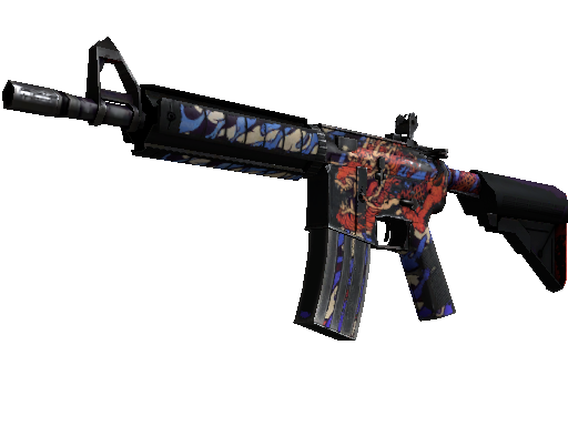 M4A4 | 龙王 (战痕累累)M4A4 | 龍王 (Dragon King) (Battle-Scarred)