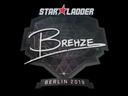 印花   Brehze   2019年柏林锦标赛Sticker   Brehze   Berlin 2019