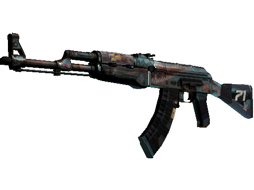 AK-47   复古浪潮 (崭新出厂)AK-47   Rat Rod (Factory New)