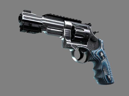 R8 左轮手枪 | 稳 (略有磨损)R8 Revolver | Grip (Minimal Wear)