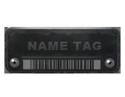 名稱標簽Name Tag