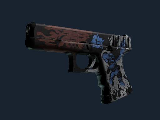 格洛克 18 型 | 烈焰天使 (久经沙场)Glock-18 | Sacrifice (Field-Tested)