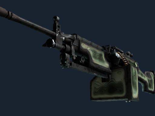 M249   等高线 (久经沙场)M249   Deep Relief (Field-Tested)