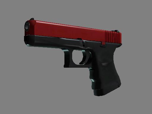 格洛克 18 型   紅蘋果 (嶄新出廠)Glock-18   Candy Apple (Factory New)