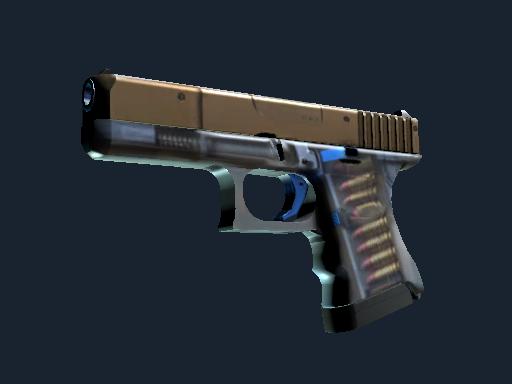 格洛克 18 型 | Clear Polymer (略有磨损)Glock-18 | Clear Polymer (Minimal Wear)