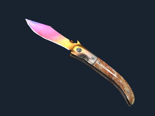 折刀(★ StatTrak™) | 渐变之色 (崭新出厂)★ StatTrak™ Navaja Knife | Fade (Factory New)