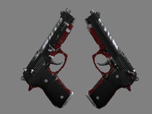 双持贝瑞塔   黑豹 (久经沙场)Dual Berettas   Panther (Field-Tested)