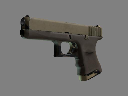格洛克 18 型 | 沙丘之黄 (久经沙场)Glock-18 | Sand Dune (Field-Tested)