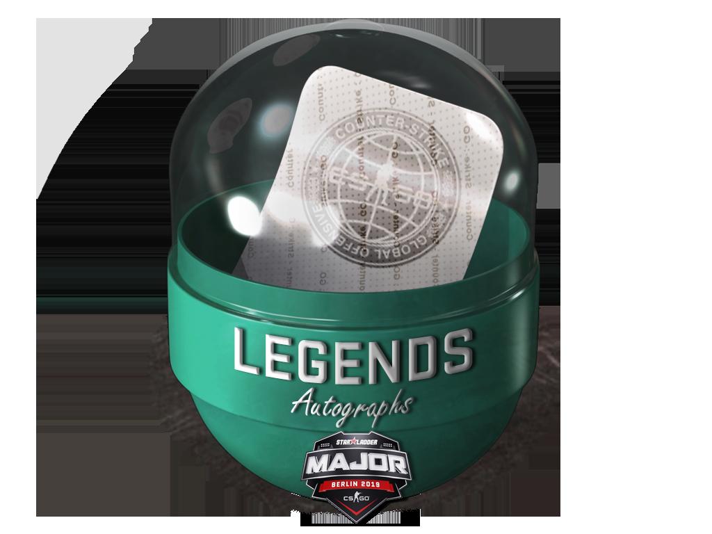 2019年柏林錦標賽冠軍組親筆簽名膠囊Berlin 2019 Legends Autograph Capsule
