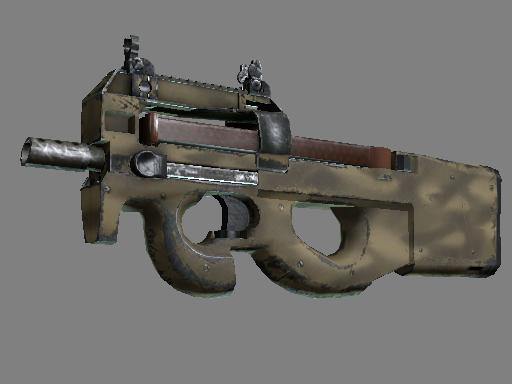 P90 | 沙漠涂装 (破损不堪)P90 | Sand Spray (Well-Worn)