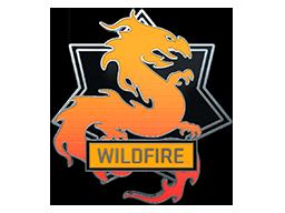野火胸章Wildfire Pin