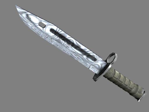 刺刀(★) | 大马士革钢 (久经沙场)★ Bayonet | Damascus Steel (Field-Tested)