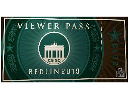 柏林2019观众通行证Berlin 2019 Viewer Pass