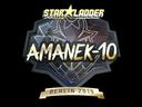印花 | AmaNEk(金色)| 2019年柏林锦标赛Sticker | AmaNEk (Gold) | Berlin 2019
