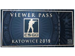 卡托維茲 2019 觀眾通行證Katowice 2019 Viewer Pass