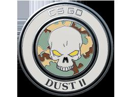 炙热沙城 II 胸章Dust II Pin