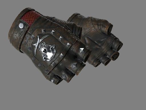 血猎手套(★) | 焦炭 (久经沙场)★ Bloodhound Gloves | Charred (Field-Tested)
