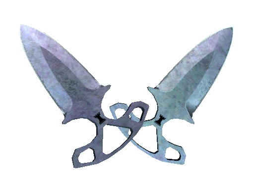 暗影双匕(★)   蓝钢 (久经沙场)★ Shadow Daggers   Blue Steel (Field-Tested)