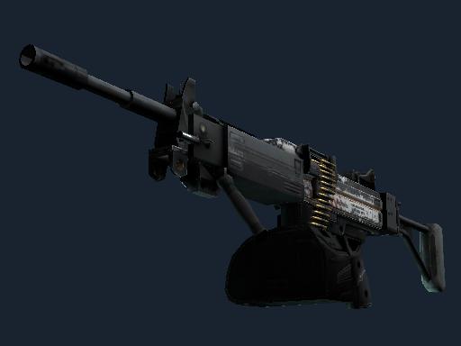 内格夫(StatTrak™) | 原型机 (战痕累累)StatTrak™ Negev | Prototype (Battle-Scarred)