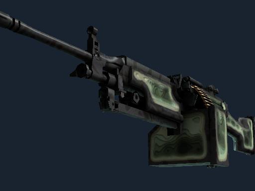 M249   等高线 (略有磨损)M249   Deep Relief (Minimal Wear)