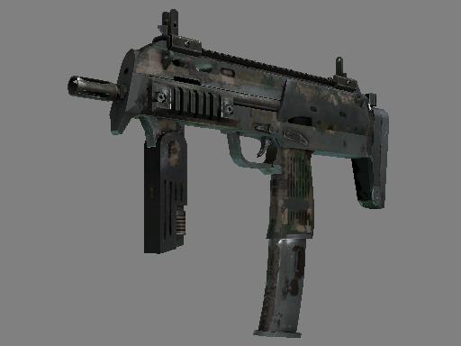 MP7 | 森林 DDPAT (战痕累累)