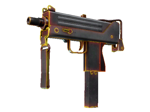 MAC-10 | 炽热 (久经沙场)MAC-10 | Heat (Field-Tested)