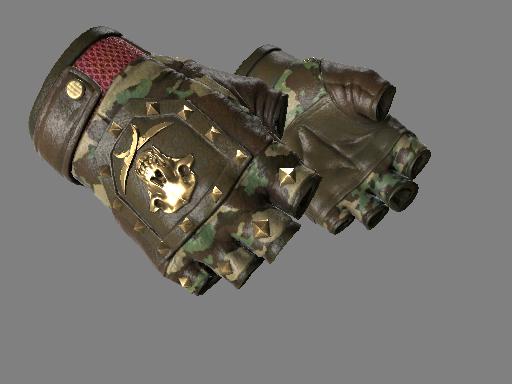 血猎手套(★) | 游击队 (略有磨损)★ Bloodhound Gloves | Guerrilla (Minimal Wear)