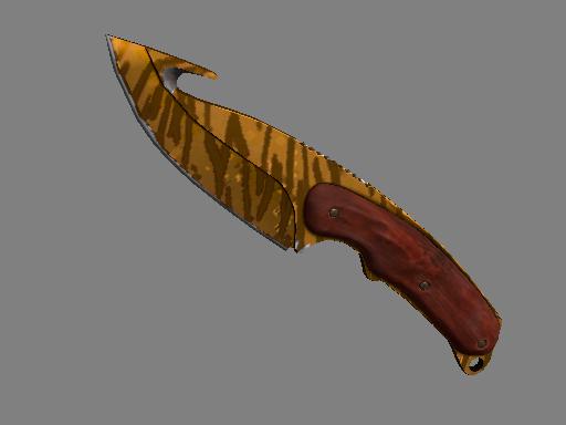 穿肠刀(★)   虎牙 (崭新出厂)★ Gut Knife   Tiger Tooth (Factory New)