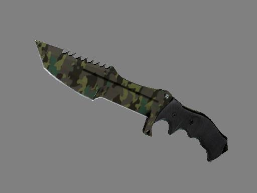 猎杀者匕首(★) | 北方森林 (破损不堪)★ Huntsman Knife | Boreal Forest (Well-Worn)