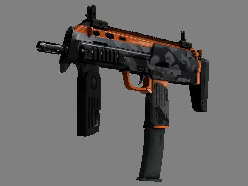 MP7(StatTrak™) | 都市危机 (崭新出厂)StatTrak™ MP7 | Urban Hazard (Factory New)