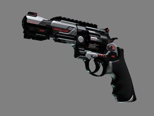 R8 左轮手枪(StatTrak™)   重新启动 (崭新出厂)StatTrak™ R8 Revolver   Reboot (Factory New)