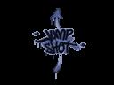 封裝的涂鴉   跳射 (靛藍)Sealed Graffiti   Jump Shot (SWAT Blue)