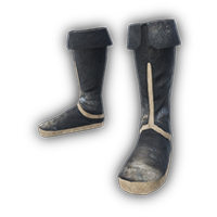 Fabric Boots