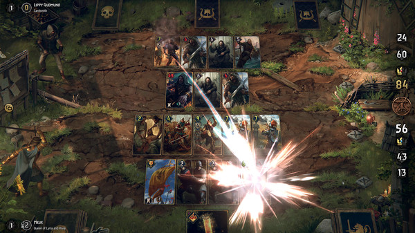 巫师之昆特牌:王权的陨落游戏截图4