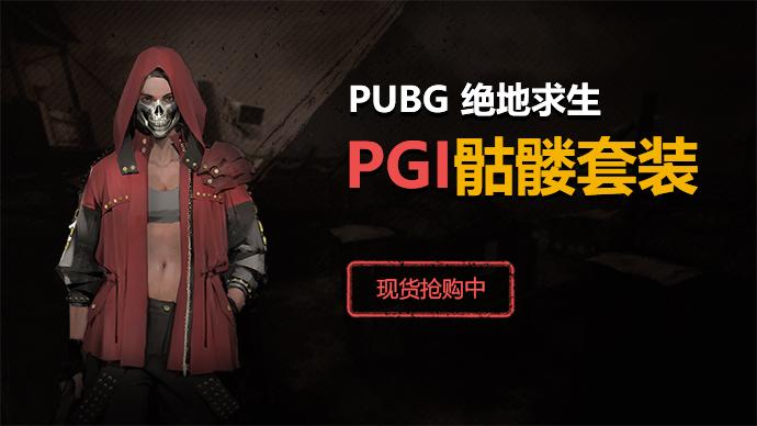 绝地求生PGI骷髅套装 代购游戏截图1
